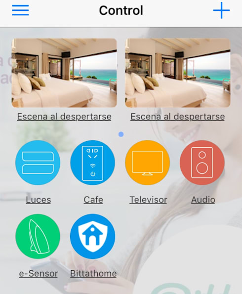 Aplicación movíl: Salas multimedia de estilo moderno por Bittat