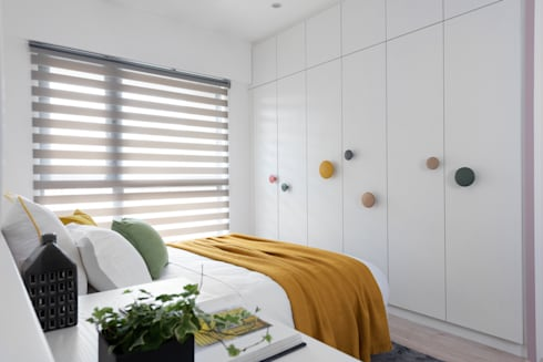 樂樂:  臥室 by 寓子設計