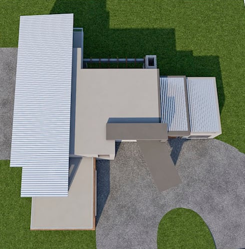 Realistic (roof/top view):   by LINE Creative Interiors