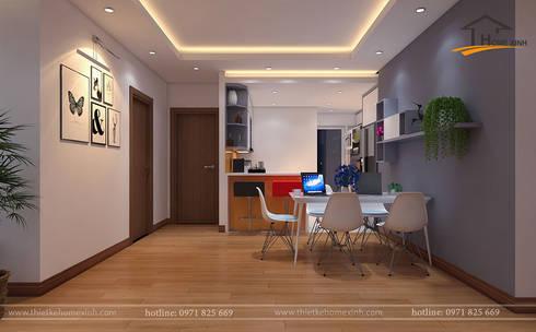 modern Kitchen by THIẾT KẾ HOMEXINH