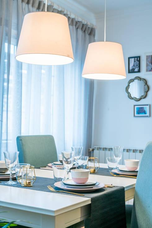 SALA DE JANTAR: Sala de jantar  por YS PROJECT DESIGN