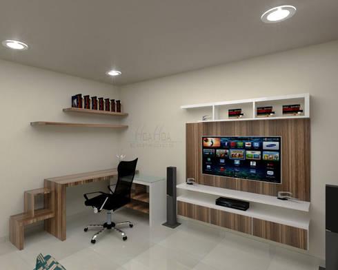 Area de estudio1: Estudio de estilo  por Pinto Arquitectura