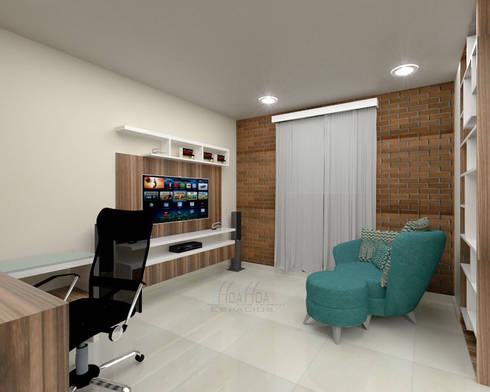 Área de estudio3: Estudio de estilo  por Pinto Arquitectura