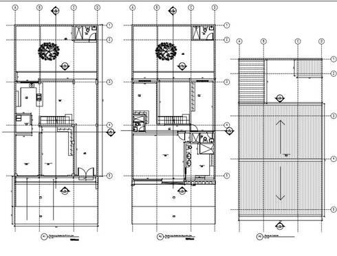 Casa Villegas:  de estilo  por Trazos Studio SAS