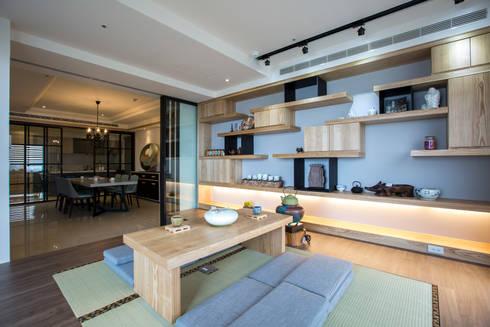 富立建設/耘非凡-旅程藍圖:  書房/辦公室 by SING萬寶隆空間設計