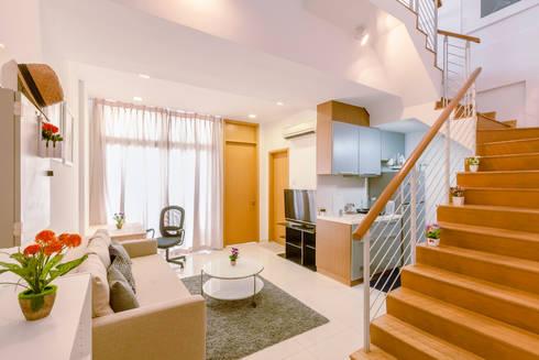 Interior Photography - Shiya Studio: modern Living room by Shiya Studio Singapore