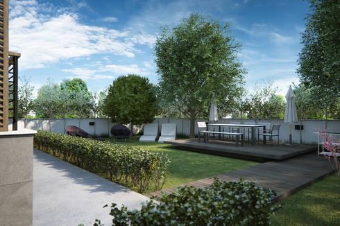 yücel partners – Villa Şimşek:  tarz Ön avlu
