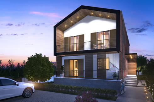 yücel partners – Villa Şimşek:  tarz Müstakil ev