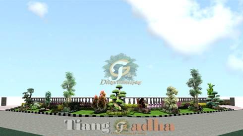 Desain taman surabaya barat:   by Tukang Taman Surabaya - Tianggadha-art