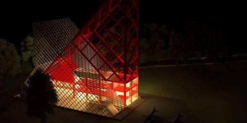 Diseño de Centro Aeronáutico e intervención del Aero club de Paramillo en la Ciudad de San Cristóbal, Estado Táchira.:  de estilo  por Collao&Nammour