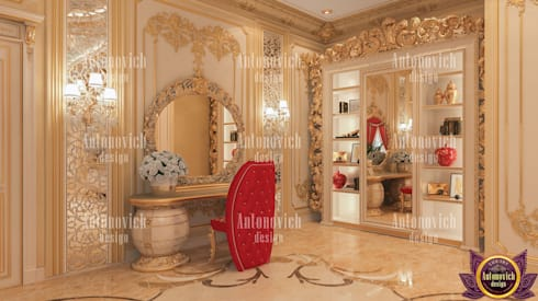 The most beautiful interiors from Katrina Antonovich: classic Bedroom by Luxury Antonovich Design