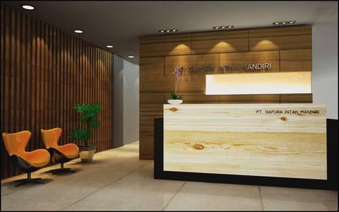 Office projects:  Gedung perkantoran by Elora Desain