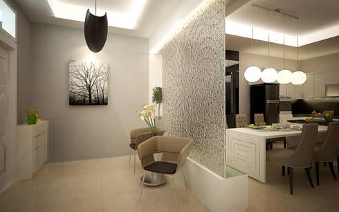 Rumah Tinggal Greenlake:  Koridor dan lorong by Elora Desain