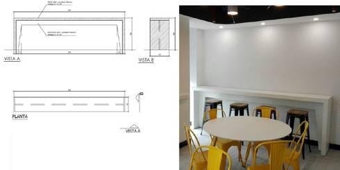 Mesa: Comedor de estilo  por Arq Darwin Machiste