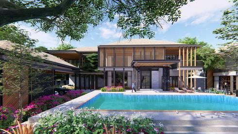 PROJECT: KAI HOUSE :  บ้านเดี่ยว by GRID ARCHITECT THAILAND
