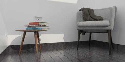 Mesa Living: Hogar de estilo  por Arq Darwin Machiste