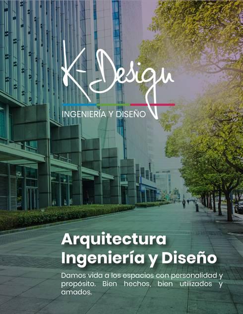 K-Design, arquitectura y diseño interior:  de estilo  por .K-Design arquitectura y diseño interior