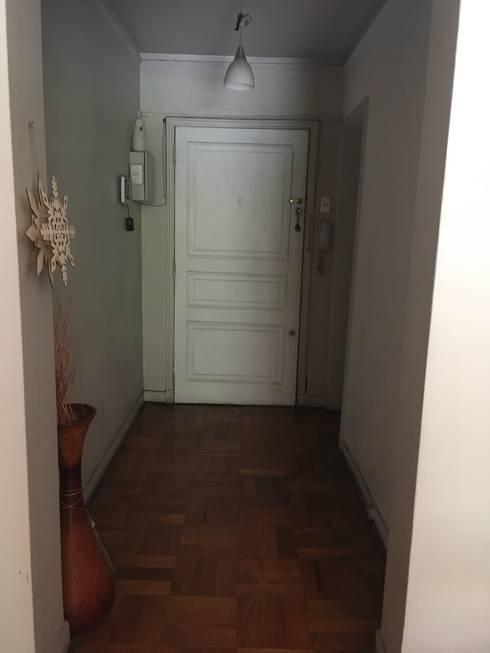 Hall Entrada - Antes :  de estilo  por MM Design