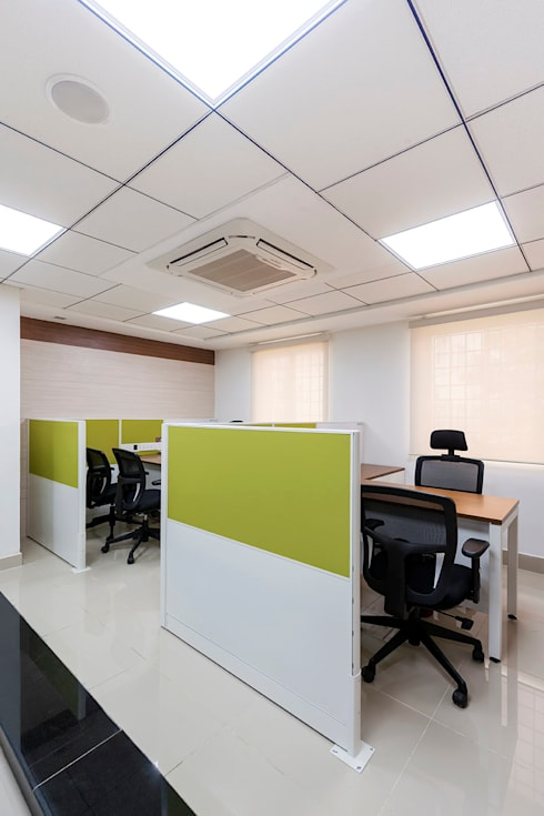office cabinets:  Office spaces & stores  by Elcon Infrastructure
