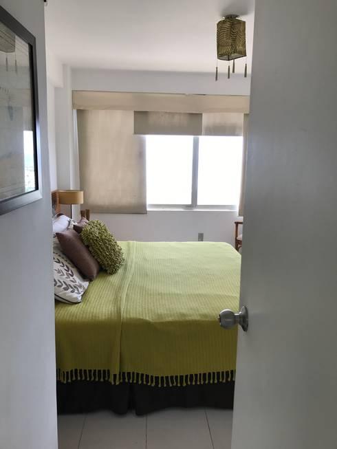 Cama Principal : Dormitorios de estilo  por RedecoraYa