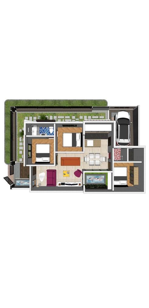 H – House:  Lantai by Axis Citra Pama