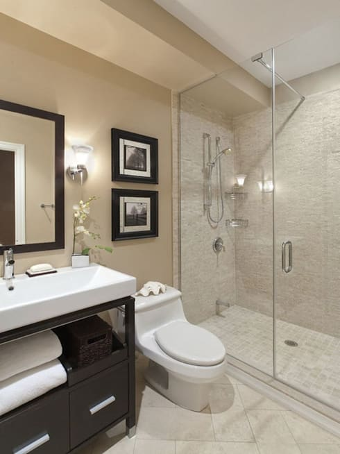 Residence of Dr. JHA: modern Bathroom by EVEN SIGHTS ARCHITECTS
