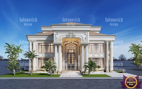 Beautiful architecture of Katrina Antonovich: classic Houses by Luxury Antonovich Design