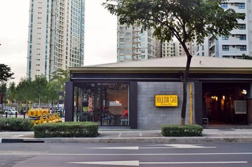 Yellow Cab Burgos Circle, Bonifacio Global City:  Commercial Spaces by Cham - Candelaria Inc.