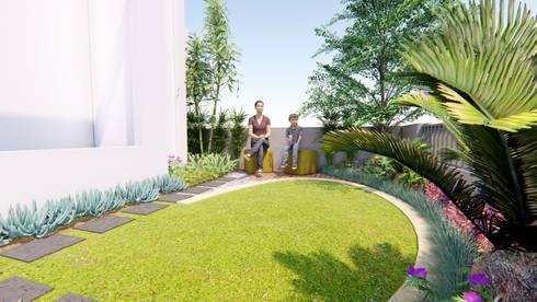 Front yard by 1mm studio | Landscape Design