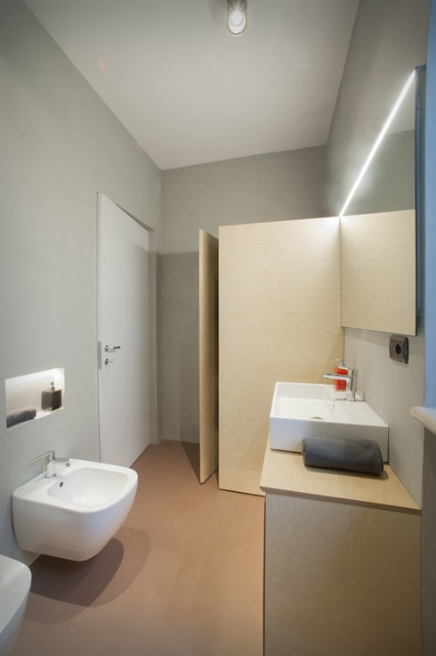 Vista interno bagno: Bagno in stile  di PADIGLIONE B