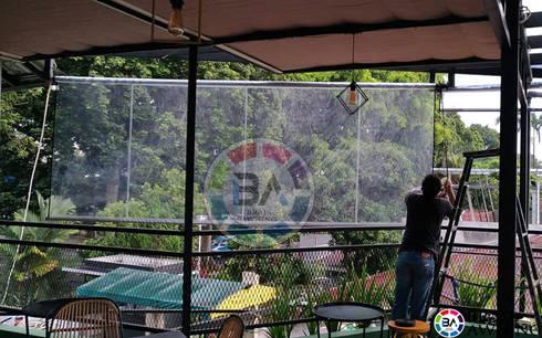 Canopy Transparan:  Balconies, verandas & terraces  by Braja Awning & Canopy