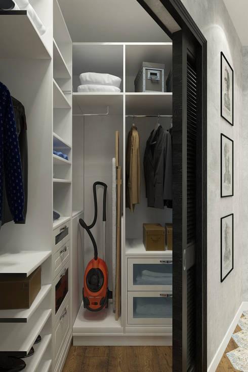 Dressing room by Гузалия Шамсутдинова | KUB STUDIO