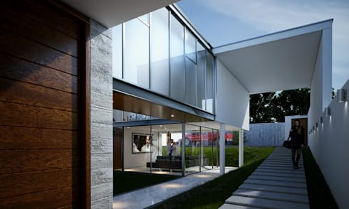 CASA LB – PACHACAMAC:  de estilo  por Aram Arquitectos