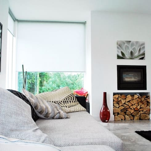 New family home, Newry, Co.Down: modern Living room by Jim Morrison Architects