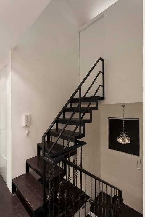 黑白精品‧極致混搭:  樓梯 by 禾光室內裝修設計 ─ Her Guang Design
