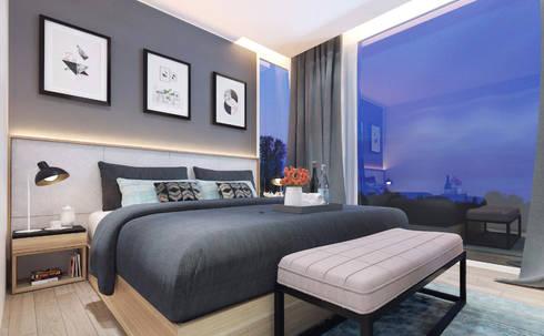 Gallery West Apartment:  Kamar Tidur by Jati and Teak