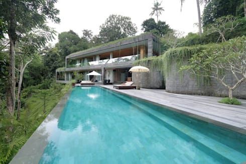 Chameleon Villa Bali: tropical Houses by Word of Mouth House