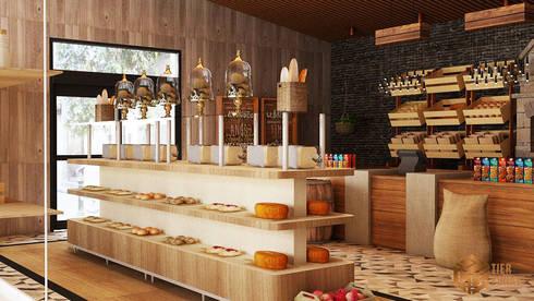 Bakery (Concept) :  Restoran by Tierbonavi