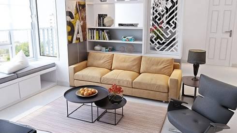 Nội thất phòng khách đẹp:   by Thương hiệu Nội Thất Hoàn Mỹ