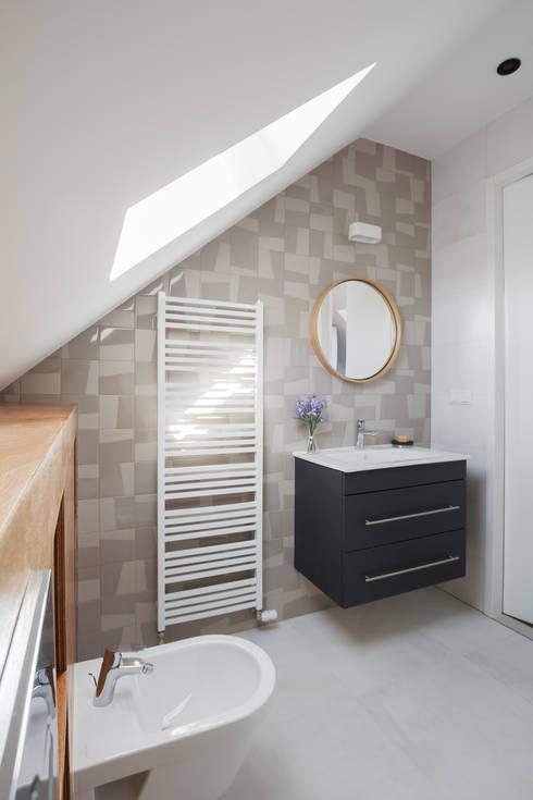 Badkamer op zolder von Stefania Rastellino interior design | homify