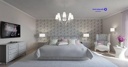 Bedroom in classic style: classic Bedroom by 'Design studio S-8'