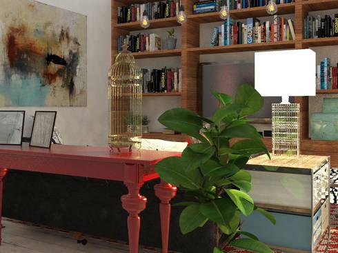 Sala de Estar: Livings de estilo ecléctico por EnVoga