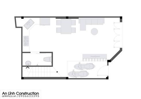 Mẫu nhà phố –  NGUYỄN VĂN HẢI DƯƠNG:   by CÔNG TY THIẾT KẾ XÂY DỰNG AN LĨNH