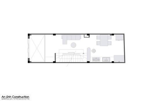 Mẫu nhà phố – NGUYỄN NGỌC YẾN LINH:   by CÔNG TY THIẾT KẾ XÂY DỰNG AN LĨNH