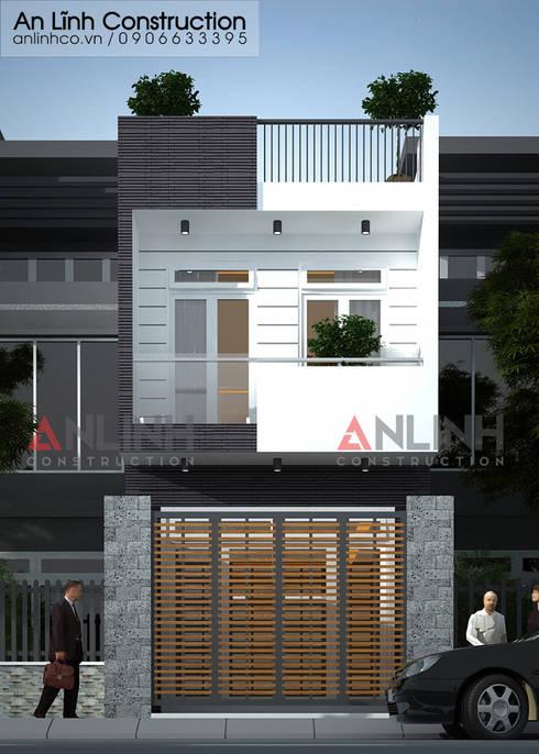 Mẫu nhà phố - ĐỖ VĂN TRƯỜNG:   by CÔNG TY THIẾT KẾ XÂY DỰNG AN LĨNH