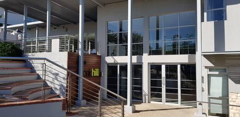 Oakhill Church Offices:  Patios by JFS Interiors