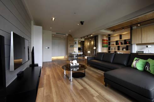 築采‧原風景:   by 築采設計 - Leve Interior Architects