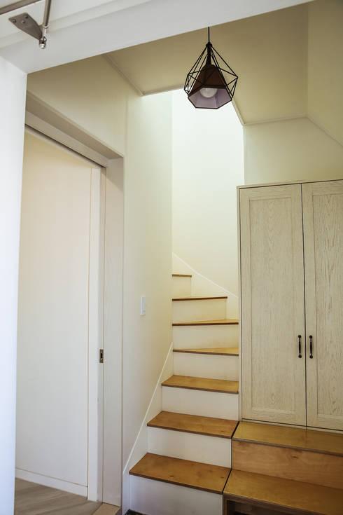 Tree_BOX: AAPA건축사사무소의  계단
