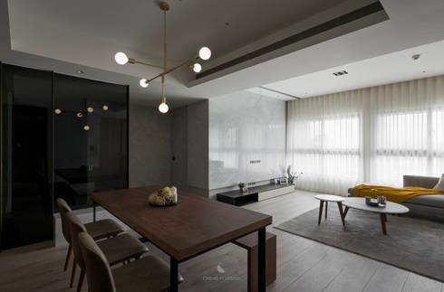 簡‧形體:  餐廳 by 橙羿設計有限公司