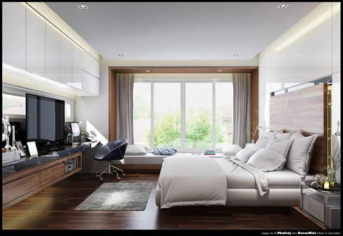 ออกแบบตกแต่งภายในบ้านคุณนิจจารีย์:  ตกแต่งภายใน by Decordini